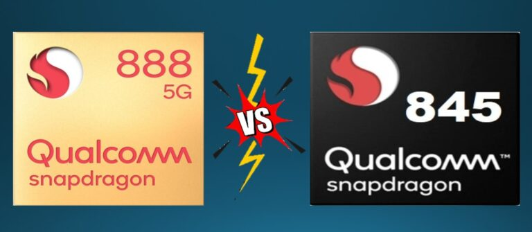 Snapdragon 888 vs Snapdragon 845